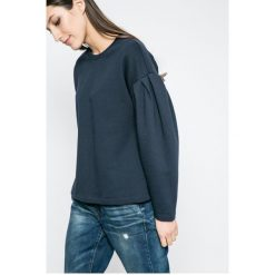 Vero Moda - Bluza. Szare bluzy damskie Vero Moda, z bawełny. W wyprzedaży za 49.90 zł.