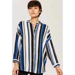 Koszula oversize - Wielobarwn. Szare koszule damskie House. Za 79.99 zł.