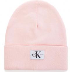 Czapka CALVIN KLEIN JEANS - J Monogram Beanie W K40K400856 637. Czerwone czapki i kapelusze damskie Calvin Klein, z bawełny. Za 179.00 zł.
