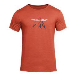 Devold Męska Koszulka Nipa Tee Ceglany M. Różowe koszulki sportowe męskie Devold, z wełny, z krótkim rękawem. Za 315.00 zł.