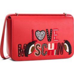 Torebka LOVE MOSCHINO - JC4290PP06KM0500 Rosso. Czerwone listonoszki damskie Love Moschino, ze skóry ekologicznej. Za 919.00 zł.