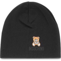 Czapka MOSCHINO - 65032 M1867 016. Czarne czapki i kapelusze męskie MOSCHINO, z materiału. Za 389.00 zł.