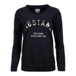 Mustang Bluza Damska L Ciemnoniebieski. Czarne bluzy damskie Mustang, z bawełny. W wyprzedaży za 137.00 zł.