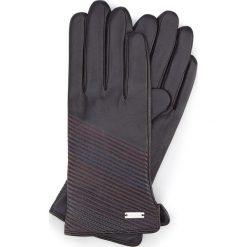 Rękawiczki damskie 39-6-567-1. Brązowe rękawiczki damskie Wittchen, z polaru. Za 99.00 zł.