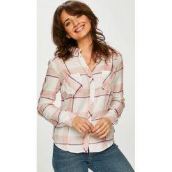 Tally Weijl - Koszula. Szare koszule damskie TALLY WEIJL, w kratkę, z tkaniny, casualowe, z klasycznym kołnierzykiem, z długim rękawem. Za 69.90 zł.
