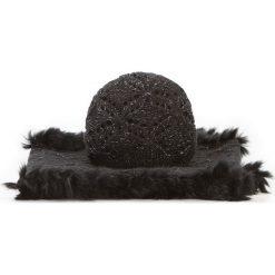 Komplet czapka + komin 87-SF-005-1. Brązowe czapki i kapelusze damskie Wittchen, na zimę, z dzianiny. Za 209.00 zł.