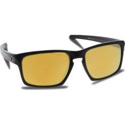 Okulary przeciwsłoneczne OAKLEY - Sliver OO9262-05 Polished Black/24k Iridium. Czarne okulary przeciwsłoneczne męskie Oakley, z tworzywa sztucznego. W wyprzedaży za 449.00 zł.
