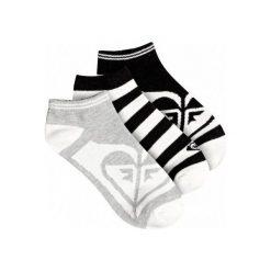 Roxy Skarpetki Ankle Socks J Sock Anthracite. Szare skarpety damskie Roxy, z bawełny. Za 79.00 zł.