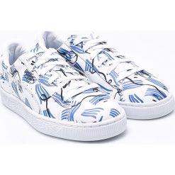 Puma - Buty Basket Shantell Martin. Szare obuwie sportowe damskie Puma, z gumy. W wyprzedaży za 299.90 zł.