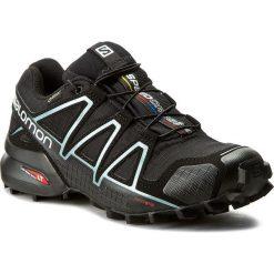 Buty SALOMON - Speedcross 4 Gtx W GORE-TEX 383187 20 G0 Black/Black. Czarne obuwie sportowe damskie Salomon, z gore-texu. W wyprzedaży za 469.00 zł.