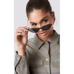 NA-KD Accessories Metalowe okulary przeciwsłoneczne Cateye - Black. Czarne okulary przeciwsłoneczne damskie NA-KD Accessories. Za 80.95 zł.