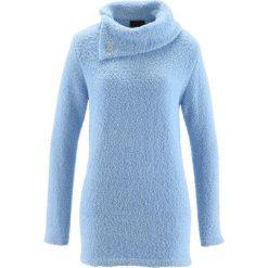 Sweter bonprix lodowy niebieski. Swetry damskie marki KALENJI. Za 54.99 zł.