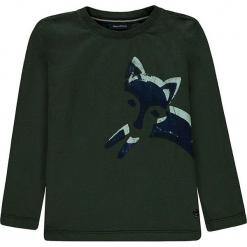 Koszulka w kolorze zielonym. T-shirty dla chłopców marki Reserved. W wyprzedaży za 49.95 zł.