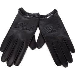 Rękawiczki Damskie KARL LAGERFELD - 86KW3609 Black. Czarne rękawiczki damskie KARL LAGERFELD, ze skóry. Za 569.00 zł.
