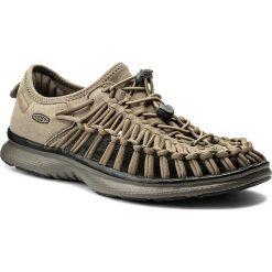 Sandały KEEN - Uneek 02 1018710 Brindle/Bungee Cord. Zielone sandały męskie Keen, z materiału. W wyprzedaży za 259.00 zł.