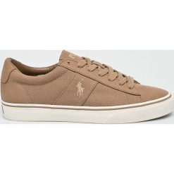 Polo Ralph Lauren - Buty. Szare buty sportowe męskie Polo Ralph Lauren, z gumy. Za 339.90 zł.