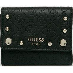 Guess Jeans - Portfel. Czarne portfele damskie Guess Jeans, z jeansu. Za 259.90 zł.