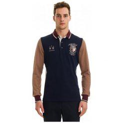 Galvanni Koszulka Polo Męska Rockhampton L Ciemny Niebieski. Niebieskie bluzki z długim rękawem męskie Galvanni, z długim rękawem. W wyprzedaży za 299.00 zł.