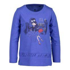 Blue Seven Koszulka Dziewczęca 104 Niebieska. Niebieskie bluzki dla dziewczynek Blue Seven, z nadrukiem. Za 45.00 zł.