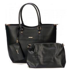 Bessie London Torebka Damska Czarna. Czarne torebki do ręki damskie Bessie London, ze skóry. Za 245.00 zł.