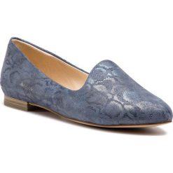 Lordsy CAPRICE - 9-24203-22 Denim Snake 884. Niebieskie mokasyny damskie Caprice, z denimu. Za 199.90 zł.