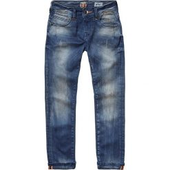 """Dżinsy """"Arsenio"""" - Skinny fit - w kolorze niebieskim. Jeansy dla chłopców marki Reserved. W wyprzedaży za 99.95 zł."""