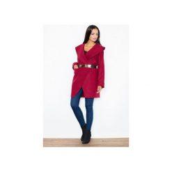Płaszcz M407 Bordo. Czerwone płaszcze damskie Figl, eleganckie. Za 219.00 zł.