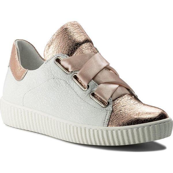 Sneakersy R.POLAŃSKI 0918 Biały Kryształ Szampański