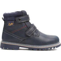 Granatowe Traperki Suburbanite. Niebieskie buty zimowe chłopięce Born2be, z materiału. Za 64.99 zł.