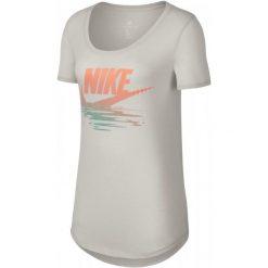 Nike Koszulka Damska W Nsw Tee Tb Bf Sunset Light Bone Crimson Pulse M. Białe koszulki sportowe damskie Nike. Za 89.00 zł.