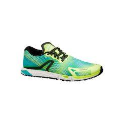 Buty do chodu sportowego RW 900 w kolorze żółto-niebieskim. Żółte buty sportowe męskie NEWFEEL, z gumy. Za 219.99 zł.