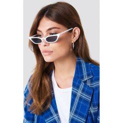 NA-KD Accessories Okulary przeciwsłoneczne retro - White. Białe okulary przeciwsłoneczne damskie NA-KD Accessories. W wyprzedaży za 56.67 zł.