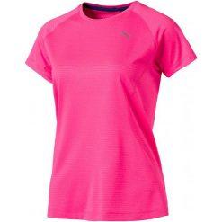 Puma Koszulka Sportowa Speed Tee W Knockout Pink Heather L. Brązowe koszulki sportowe damskie Puma, z materiału. W wyprzedaży za 115.00 zł.