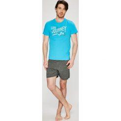Henderson - Piżama Epic. Szare piżamy męskie Henderson, z nadrukiem, z bawełny. W wyprzedaży za 49.90 zł.