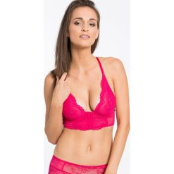 Gossard - Biustonosz Superboost Lace Deep V bralet. Różowe biustonosze Gossard, z elastanu. W wyprzedaży za 99.90 zł.