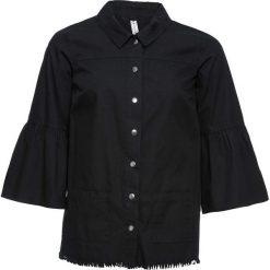 Koszula z plisą guzikową bonprix czarny. Koszule damskie marki SOLOGNAC. Za 79.99 zł.