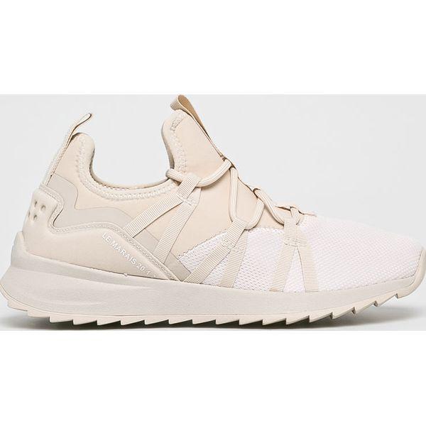 95771551 Tamaris - Buty - Białe obuwie sportowe damskie marki Tamaris, bez ...