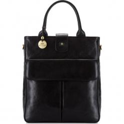 Torebka damska 39-4-528-1. Czarne torebki do ręki damskie Wittchen, w paski. Za 1,999.00 zł.