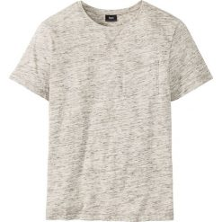 T-shirt melanżowy Regular Fit bonprix ciemnooliwkowy melanż. T-shirty męskie marki Giacomo Conti. Za 32.99 zł.