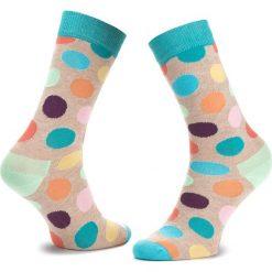 Skarpety Wysokie Unisex HAPPY SOCKS - BDO01-1001 Kolorowy. Skarpety męskie Happy Socks, w kolorowe wzory, z bawełny. Za 34.90 zł.