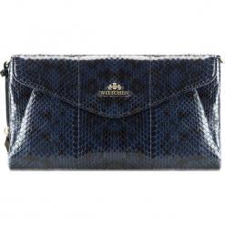 Torebka damska 19-4-556-N. Niebieskie torebki do ręki damskie Wittchen, w paski. Za 559.00 zł.