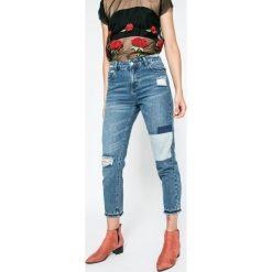 Answear - Jeansy Ur Your Only Limit. Niebieskie jeansy damskie ANSWEAR. W wyprzedaży za 114.90 zł.