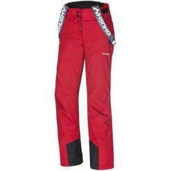 Husky Spodnie Narciarskie Brita Red S. Czerwone spodnie snowboardowe damskie Husky, sportowe, z długim rękawem. W wyprzedaży za 299.00 zł.