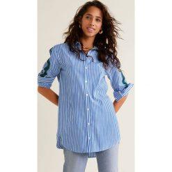 Mango - Koszula Banda. Szare koszule damskie Mango, z długim rękawem. Za 139.90 zł.