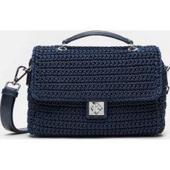 Granatowa torebka damska. Niebieskie torby na ramię damskie Kazar. Za 649.00 zł.