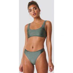 NA-KD Swimwear Sportowy dół bikini - Green. Zielone bikini damskie NA-KD Swimwear. Za 52.95 zł.