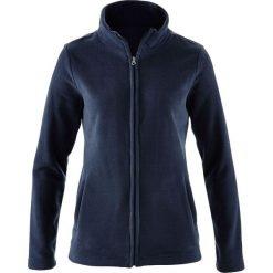 Bluza rozpinana z polaru z wpuszczanymi kieszeniami bonprix ciemnoniebieski. Bluzy damskie marki KALENJI. Za 32.99 zł.
