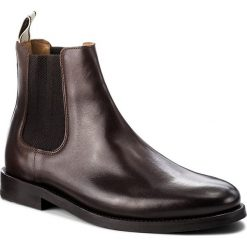Sztyblety GANT - Max 17651893  Dark Brown G46. Botki męskie marki Giacomo Conti. W wyprzedaży za 439.00 zł.