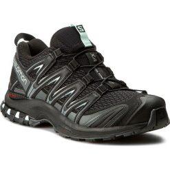 Buty SALOMON - Xa Pro 3D W 393269 22 V0 Black/Magnet/Fair Aqua. Czarne obuwie sportowe damskie Salomon, z materiału. W wyprzedaży za 349.00 zł.
