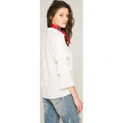 Answear - Bluzka Stripes Vibes. Szare bluzki damskie ANSWEAR. W wyprzedaży za 49.90 zł.
